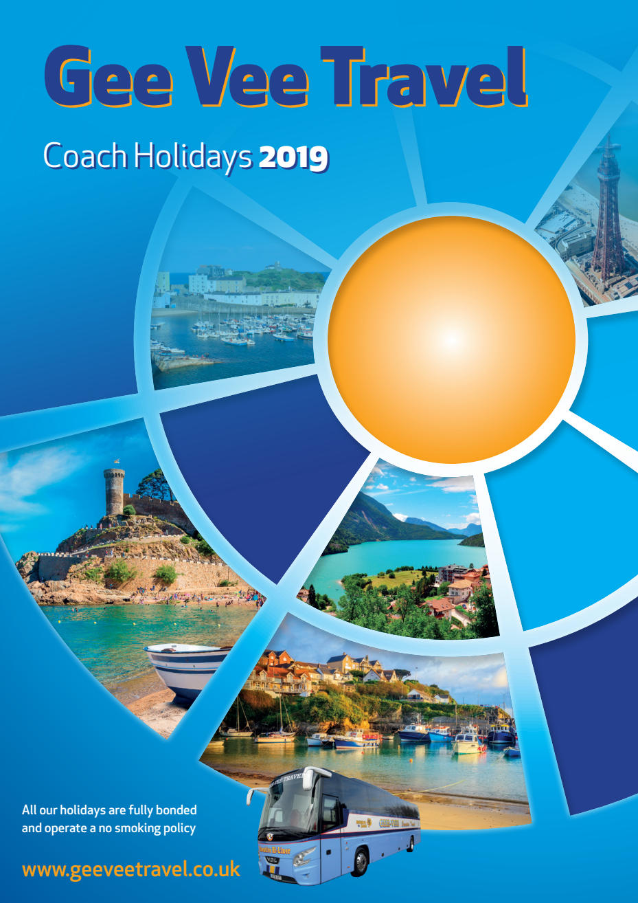 Gee-Vee Travel Coach tours and holidays, 2019 Brochure